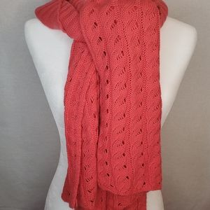 Accessories - Knit long scarf - intricate patterns